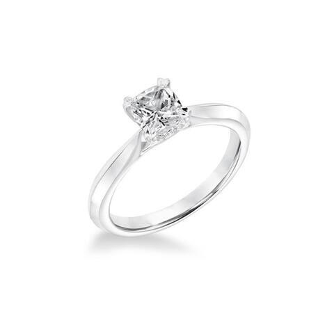 Frederick Goldman KALI Platinum 1.00 CT Diamond Women's Solitaire Diamond Engagement Ring