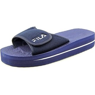 Fila Slip-On Strap Sandal Open Toe Synthetic Slides Sandal