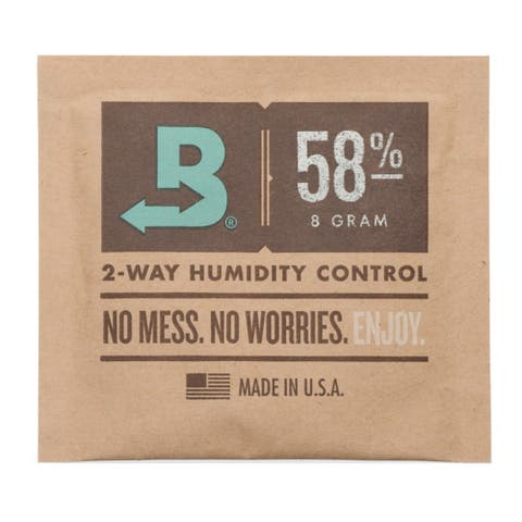 Boveda 8-Gram Humidity Pack (58% RH, Single Unit)