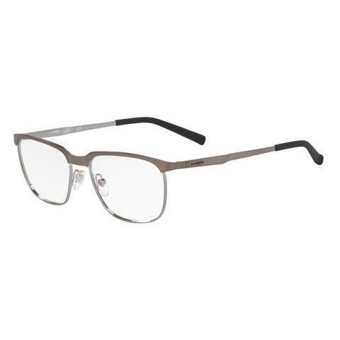Arnette AN6122 715 54 Gunmetal/gunmetal Men's Rectangle Eyeglasses