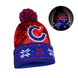 MLB Light Up Big Logo Beanies Chicago Cubs