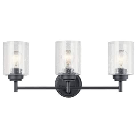 Kichler Lighting Winslow 3-Light Vanity Light Black