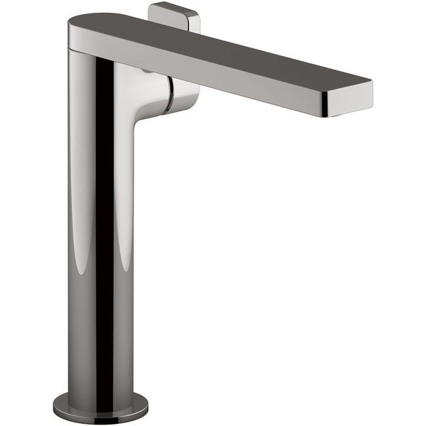 Kohler K-73168-4 Composed 1.2 GPM Single Hole Vessel Bathroom Faucet with Lever Handle and Drain Assembly