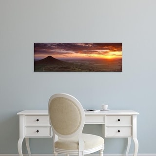 Easy Art Prints Panoramic Images's 'Roseberry Topping, North Yorkshire, Cleveland, England, United Kingdom' Canvas Art