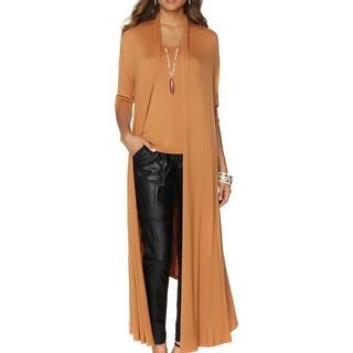 Nene Leakes NEW Cashew Brown Womens Size XS Glam Maxi Cardigan Sweater|https://ak1.ostkcdn.com/images/products/is/images/direct/9f3618fdf7b85103ffd536571710d265deb8094a/Nene-Leakes-NEW-Cashew-Brown-Womens-Size-XS-Glam-Maxi-Cardigan-Sweater.jpg?impolicy=medium