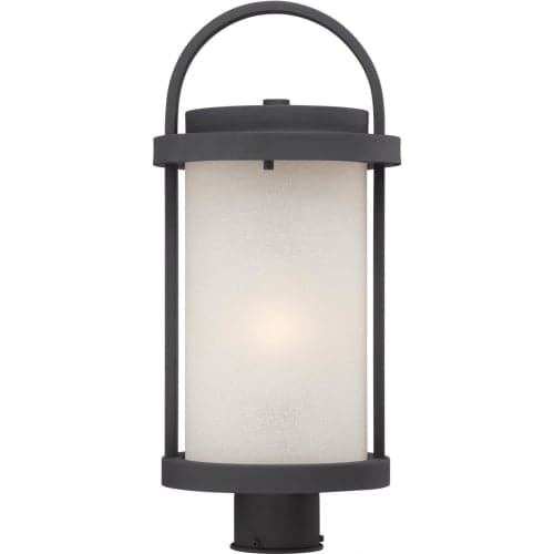 Nuvo Lighting 62/654 Willis 1 Light LED Outdoor Post Light - 9 Inches Wide