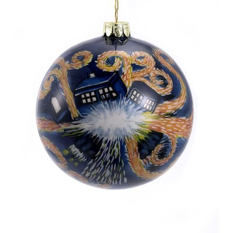 Doctor Who Starry Nite Inside Paint Ornament Ball
