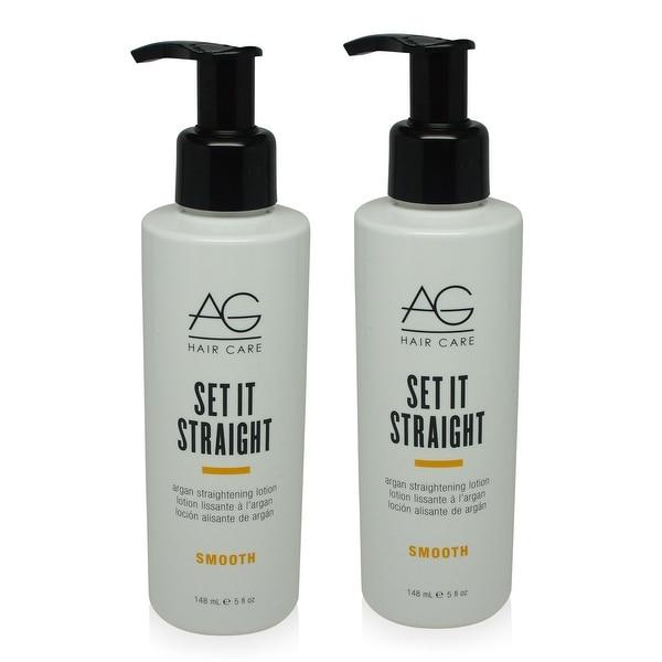 AG Hair Set it Straight 5 Oz - 2 Pack