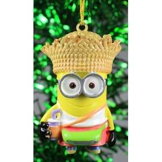 shop kurt adler despicable me minion tourist dave holiday ornament free shipping on orders over 45 overstockcom 18312187 - Minion Christmas Ornament