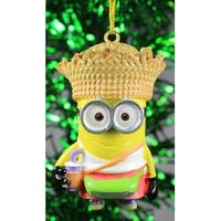 Kurt Adler Despicable Me Minion Tourist Dave  Holiday Ornament