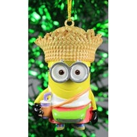 despicable me minion tourist dave christmas holiday ornament