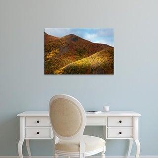 Easy Art Prints Terry Eggers's 'Autumn Color In Denali National Park' Premium Canvas Art
