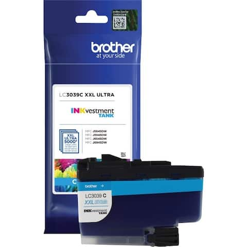 Brother international lc3039c ultra high yield cyan ink cart