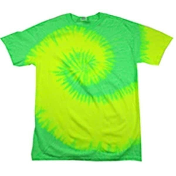 2460720b518b Shop BRIGHT NEON GREEN TYE DYED TEE SHIRT unisex SIZE MED hippie tie dye  SWIRL 214 - On Sale - Free Shipping On Orders Over $45 - Overstock -  27153765
