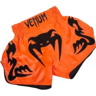 Venum Bangkok Inferno Muay Thai Shorts - Neo Orange