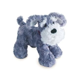 Bedtime Originals Plush Gray/White Dog Stuffed Animal - Whiskers