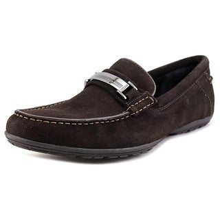 Calvin Klein Wallace Round Toe Suede Loafer