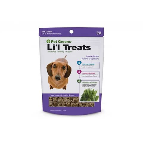 Pet Greens Li'l Treats Soft Chews - Lamb