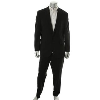 Kenneth Cole New York Mens Wool Lined Two-Button Suit - 40S