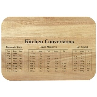KitchenWorthy 290-RWMCB Conversion Wooden Cutting Board