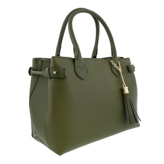 HS Collection HS8435 VR LIZA Green Satchel/Shoulder Bag