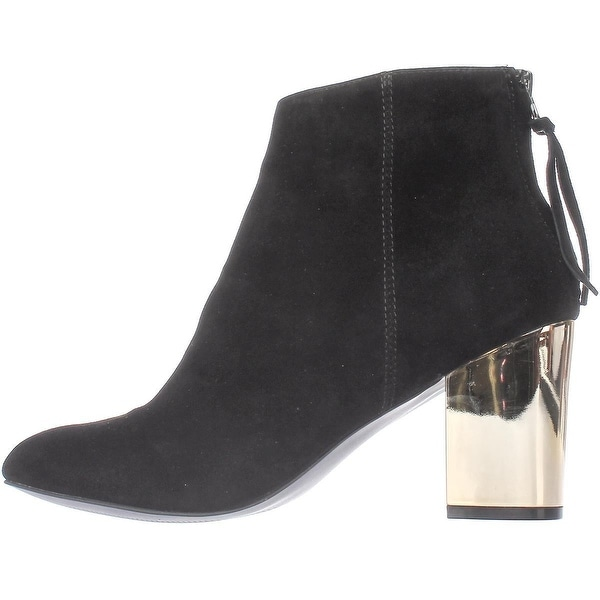 Steve Madden Womens Cynthiam Leather Closed Toe Ankle Fashion Boots