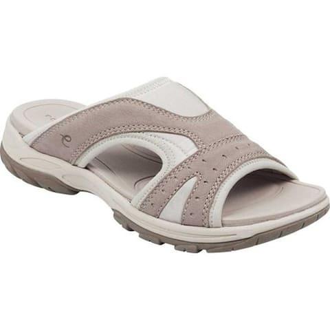 2c9af6116198 Easy Spirit Women s Oceana Slide Sandal Grey Morocco Lycra