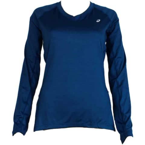 Asics Womens Asx Dry Long Sleeves Running Athletic T-Shirt