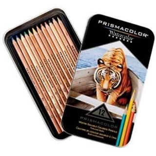 Prismacolor Watercolor Pencil Set 12/Tin-