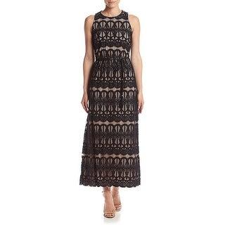 Jessica Howard Petite Lace Maxi Evening Gown Dress - 6P