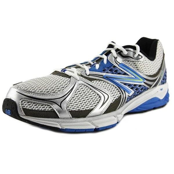 New Balance M940 Men Round Toe Synthetic White Running Shoe