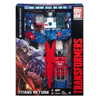 Transformers Titans Fortress Maximus 2016 SDCC Exclusive with Shipper - multi