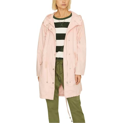 Sanctuary Clothing Womens Snowtrooper Parka Coat, pink, X-Small