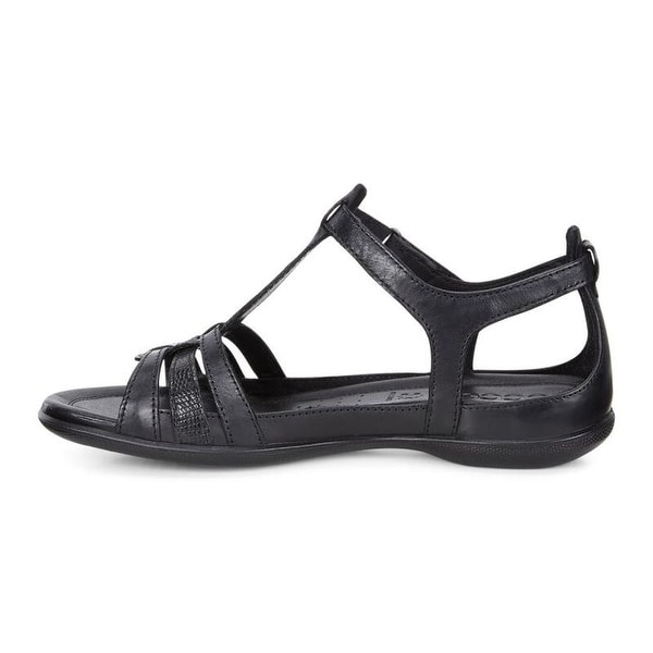 000737cb00f96 Shop ECCO Womens Flash Leather Open Toe Casual T-Strap Sandals - 10 ...