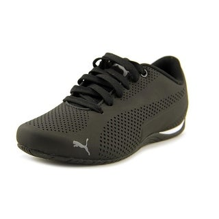 Puma Drift Cat 5 Ultra Youth Round Toe Synthetic Black Sneakers
