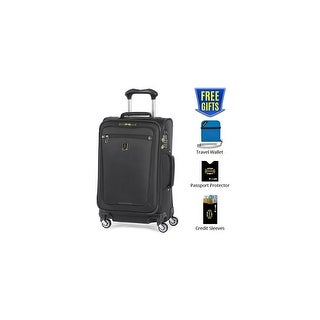 """Travelpro Marquis 2 - Black 21"""" Expandable Spinner w/ Integrated TSA Lock & 2"""" Expansion Capability"""