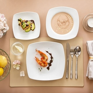 Link to MALACASA, Series Julia, 18-Piece Dinner Plates, Service for 6 Similar Items in Dinnerware