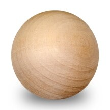 "1 Pc of 3"" Wooden Balls"