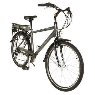 Vilano Pulse Men's Electric Commuter Bike - 26-Inch Wheels|https://ak1.ostkcdn.com/images/products/is/images/direct/9f480338db2ac994fe0fa81432b050c2f0fa58b8/Vilano-Pulse-Men%27s-Electric-Commuter-Bike---26-Inch-Wheels.jpg?impolicy=medium