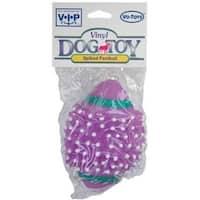 Vo-Toys 52984 Vinyl Spiked Football Dog Toy, Medium