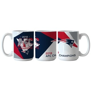 New England Patriots 2018 AFC Champions Sublimated Mug