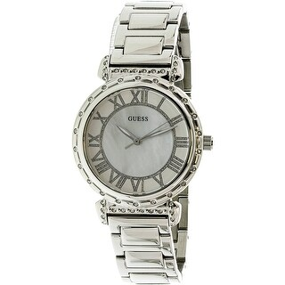 Guess Women's U0831L1 Silver Metal Quartz Fashion Watch