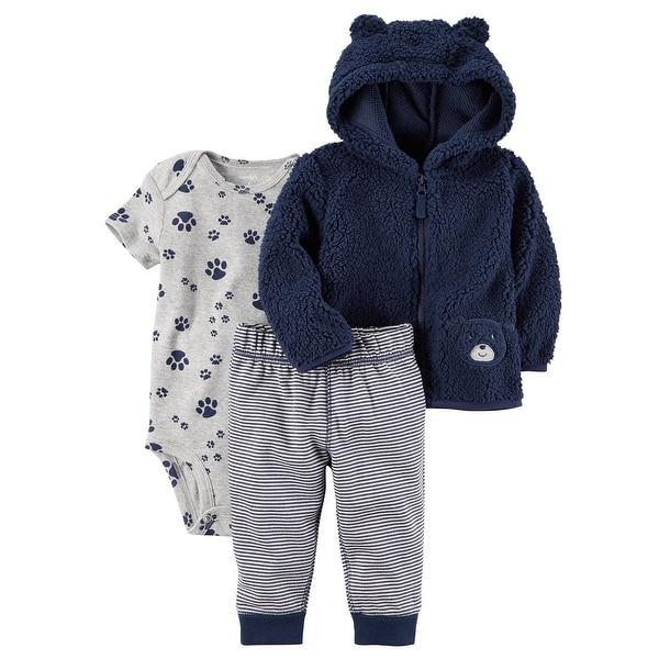 d642fdc86 Shop Carter s Baby Boys  3-24 Months 3 Piece PAW Print Little Jacket ...