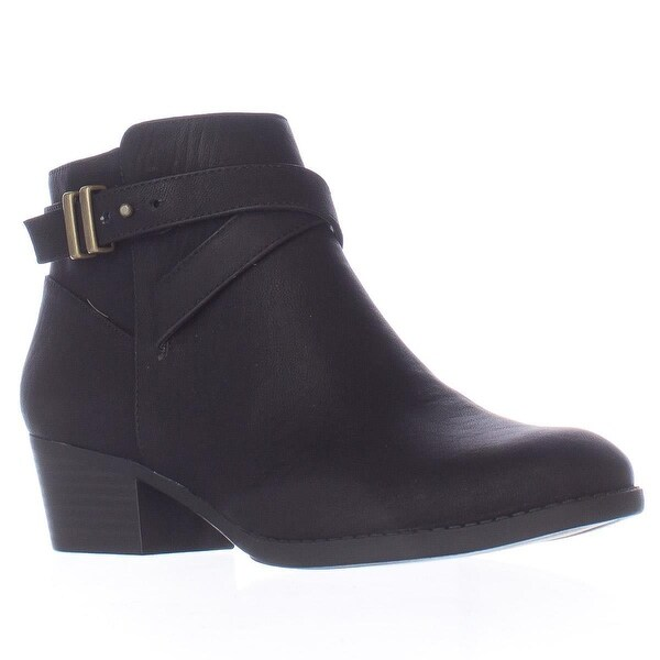 I35 Herbii Short Ankle Boots, Black