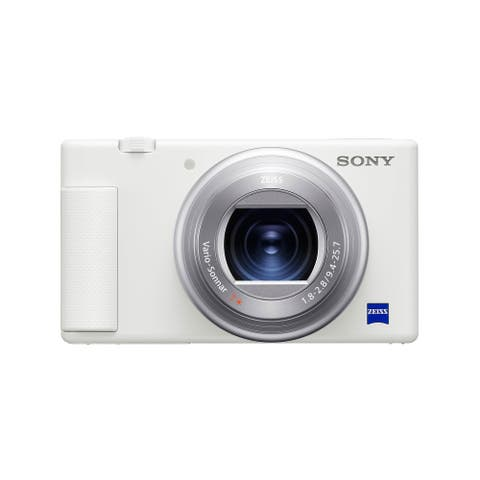 Sony ZV-1 Camera for Content Creators and Vloggers (White)