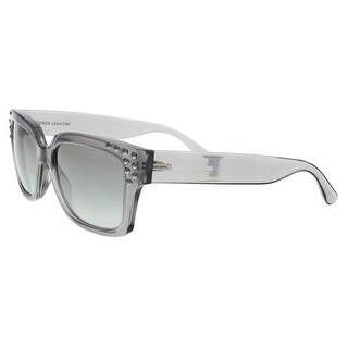 Michael Kors MK2066 334511 Grey Crystal Rectangle Sunglasses - 55-17-140