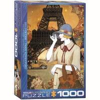 Paris Adventure 1000 Piece Puzzle, 1,000 Piece Puzzles by Eurographics
