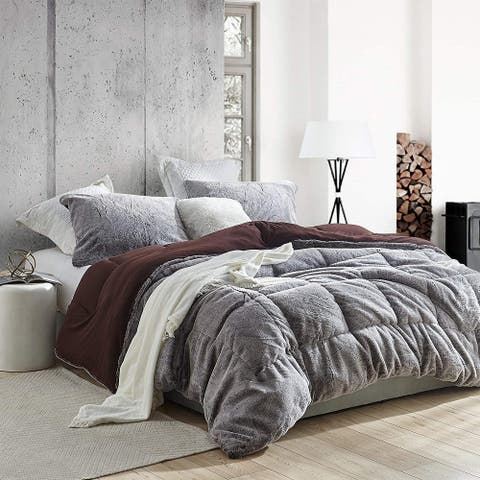 Aww Buddy - Coma Inducer Oversized Comforter - Seal Brown