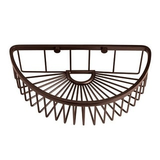 Gatco 1575 10 Inch Half Round Shower Basket