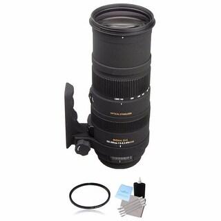 Sigma 150-500mm f/5-6.3 Lens for Nikon F Lens Bundle